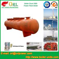 Quality SA516GR70 Steel Boiler Mud Drum / Steam Drum With Excellent Performance wholesale