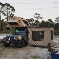 Quality 3-4 Person Off Road Vehicle Awnings UV50+ Protection 1 Year Warranty wholesale