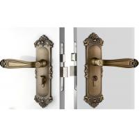 Quality High Hardness Room Mortise Door Lock Antique Bronze Zinc Alloy Entracne Handle Lock wholesale