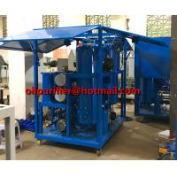 Quality China Insulation Oil Purifier Mobile Transformer Oil Purification Machine with Enclosure shelter  filtration Insulating wholesale