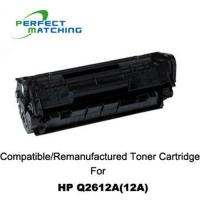 China Toner cartridge Q2612A for HP on sale