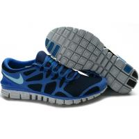 China 2011 Nike Free Run 3.0 Men' s Running Shoes Blue on sale
