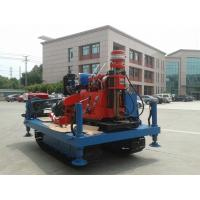 Quality Spindle Rotary Crawler Drilling Rig Max Torque 2760 N.m , Mobile Drilling Rig wholesale