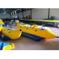Quality Inflatable Water Banana Boat Towables for water park Small Blow Up Banana Boat Water Toy for children wholesale