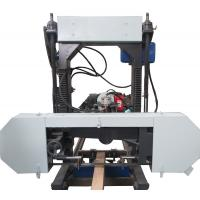 Buy cheap MJ1000 Portable Band Saw Mill Mobile Sawmill Horizontal Band Sawmill from wholesalers