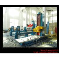 Quality Automatic End Face Milling Machine 6KW 1200mm * 1500mm for H Beam / Box Beam Line wholesale
