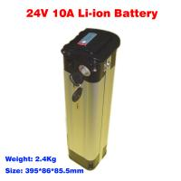 Quality electric bicycle battery 24v 10ah EB2410XY lithium ion battery pack wholesale