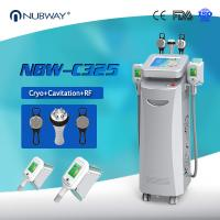 Cheap Cryo +RF+ cavitation in one 5 handles Cryo fat freezing machine for Europe for sale