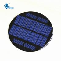 China 0.8W Miniature Solar System for foldable solar panel charger ZW-R100 Residential Solar Power Panels on sale
