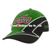Quality Racing Patch Embroidery Cotton Baseball Cap BC-083 wholesale