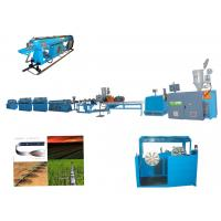 Quality Auto Vegetable Green House Flat Drip Irrigation Pipe Making Machine /  Pipe Making Machine 0.15 - 0.6 wholesale