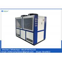 Quality Copeland Compressor 30 tons Air Cooled Water Chiller for Plastic Injection Machine wholesale