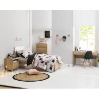 Quality Apartment Furniture Space Saving Bedroom Modern Design of Single Bed with Nightstand in Fashion interior Desk wholesale