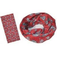 Quality 2 Color Printing Bandana with Worm Design (YT-873) wholesale