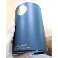 Buy cheap Black Printed Custom Paper Tube , Large Carboard Composite Can Packaging product