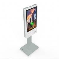 China Vertical 32 Inch Advertising Outdoor Digital Signage Kiosk Floor Mounted on sale
