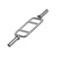 Quality Bodybuilding Gym Workout Accessories , Sport Fitness Steel Olympic Swiss Bar wholesale