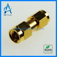 Cheap 2.92 mm adapter plug to plug gold for sale
