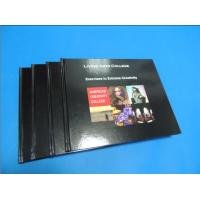 Quality Commercial Black glossy paper Hardcover Coffee Table Book Printing Services wholesale