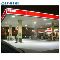 Quality High Quality Waterproof Design Space Frame Gas Petrol Station Canopy Steel Structure wholesale