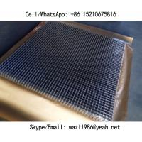 "Cheap Food Grade SS304 Crimped Wire Mesh Panels; 3/4"" Hole, 2mm Diameter Wire; Anti-Acid and Alkali, Heat Resistance for sale"