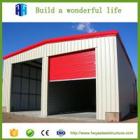 Quality Cheaper fireproof light steel structure insulated sandwich panels shed wholesale