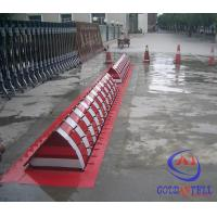 Traffic Remote Control Security Hydraulic Road Blocker A3 Steel With Rust Proof Lacquer