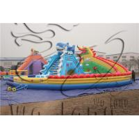Quality inflatable dragon and shark slide / inflatable slide for fun!!! wholesale