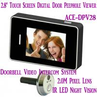 "Cheap 2.8"" LCD Screen Digital Peephole Viewer Doorbell Video Camera Recorder Access Control DVR for sale"