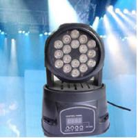 Quality Mini 3W RGB LED Moving Head Wash Light 9 channels DMX512 KTV Stage Light wholesale