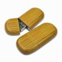 China Wood USB Flash Drive Stick With Password Protection, Encrypted USB 2.0 Memory on sale