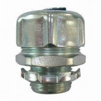 China Liquid Tight Straight Connector, NPT Thread, UL/cUL Listed, Conduit Fittings on sale