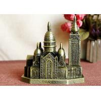 Quality Bronze Plated Keepsake DIY Craft Gifts Russia Cathedral Of Christ Architecture Model wholesale