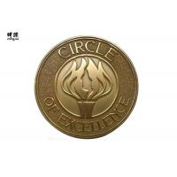Quality Personalized 3D Challenge Coins , Antique Gold Military Commemorative Coins wholesale