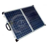 Quality Aluminium Frame Solarland 12V 80W Folding Portable Solar Panel Chargers for Camping wholesale