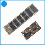 Quality 12W  monocrystal  folding solar laptop charger wholesale