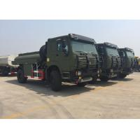Quality Chassis Drive Mobile Oil Tank Truck For Fuel Delivery 266 HP - 420 HP 2 Cabin wholesale