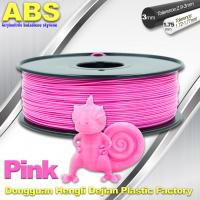 Quality 1767C Pink Plastic Filament For 3D Printing Consumables Filament wholesale