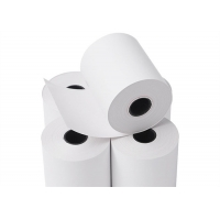 China 65gsm 80x80mm 18×25mm Core Cash Register Paper Roll on sale