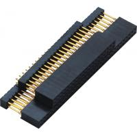 Quality 2.54mm Gold Flash PC 104 Connector 180° DIP  2.0AMP H=11.0 DIP=12.2 PPS black ROHS wholesale