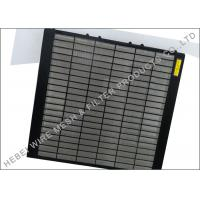 Quality Triple Deck SWACO Shakers Screen , 20 - 325 Mesh Shale Shaker Screen Suppliers wholesale