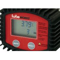 High Accuracy 30 Liter Digital Oil Meter With Low Battery Indicator / Liquid Flowmeter