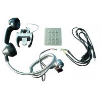 Quality Sliver Alloy weather proof phones Sets With Numeric Keypad for kiosk wholesale