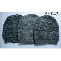 Quality men's knitted hat good style and high quality SH038 adults acrylic hats wholesale