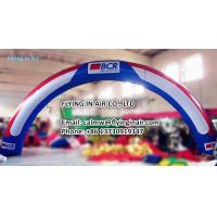 Buy cheap 10m Outdoor Printing Inflatable Arch with Blower For Outdoor Advertisement product