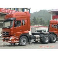 Quality 6 x 4 tractor head truck trailer / prime mover with 3 persons Capacity wholesale