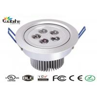 Quality Outdoor Recessed Lighting Fixtures / 5W LED Ceiling Light Recessed Energy Saving wholesale