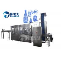 China Pet Bottle Mineral Water Filling Machine / Reliable Automatic Bottle Filling Machine on sale