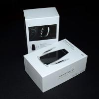 China Wireless Car Charger Mount Rigid Paper Gift Box With Lids , Custom Cardboard Boxes on sale