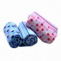 Quality Promotion baby printed polar fleece blankets wholesale